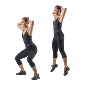 exercise to stay fit at home / trickestan.com