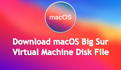 Download macOS Big Sur VMDK [Virtual Machine Disk] File